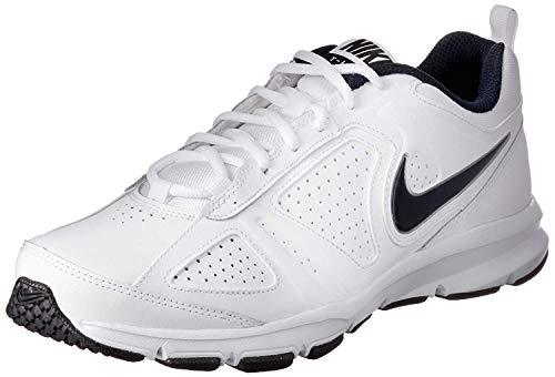 Nike T-Lite XI, Herren Hallenschuhe, Weiß (White/Obsidian-Black-Metallic Silver 101), 47.5 EU
