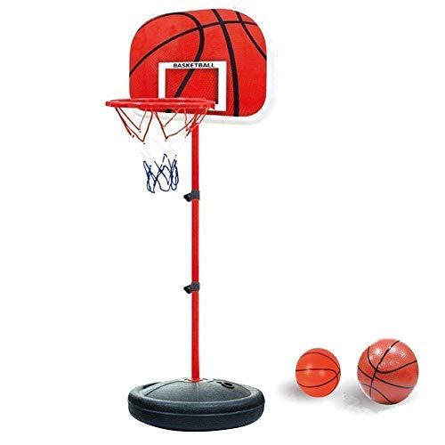 YunNasi Basketballkorb mit Ständer Basketballständer Stabiler und Höhenverstellbar für Kinder und...