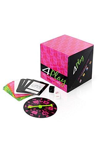 KHEPER GAMES 4 Play Game Box mit 4 erotischen Spielen