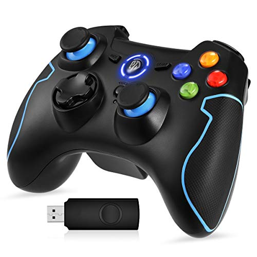 EasySMX PC Gamepad, Wireless Controller, Gaming Controller für PS3/PC(Windows XP/7/8/8.1/10)/Android TV-Box,...