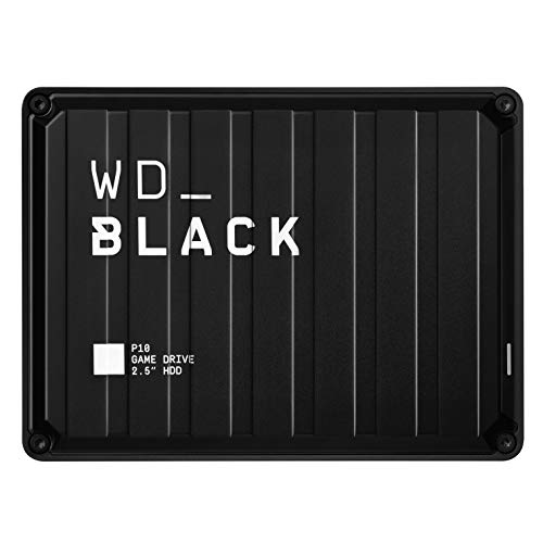 WD_Black P10 Game Drive externe Festplatte 5 TB (mobile und robuste High-Perfomance-Festplatte, für Konsole...