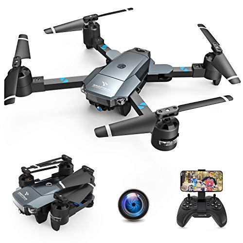 SNAPTAIN A15H Drohne mit Kamera HD 720P Faltbare Drohne FPV WLAN 120° Weitwinkel RC Quadrocopter/Kopfloser...