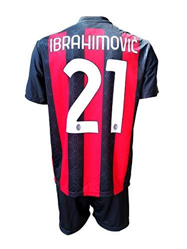 3rsport Milan Zlatan Ibrahimovic 21 Replika für Kinder (Größe 2 4 6 8 10 12) Erwachsene (S M L XL) (S...