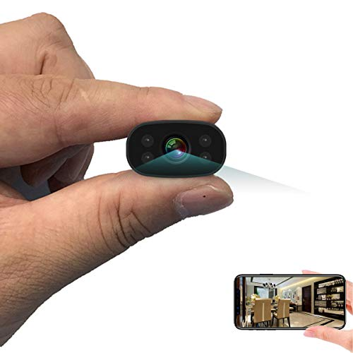 Überwachungskameras PNZEO W3 Mini Kamera Home Sicherheit Kamera 1080P HD Drahtlose WiFi Remote View...