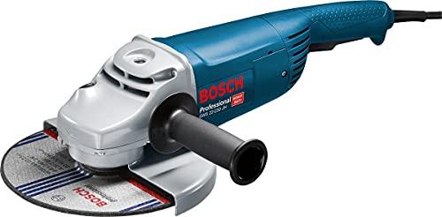 Bosch Professional Winkelschleifer GWS 22-230 JH (2.200 Watt, Scheiben-Ø: 230 mm, inkl. Zusatzhandgriff,...