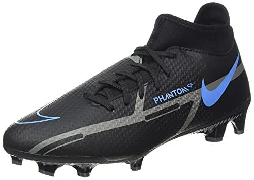 Nike Unisex Phantom GT2 Academy Dynamic Fit FG/MG Fussballschuh, Black Black Iron Grey, 40 EU