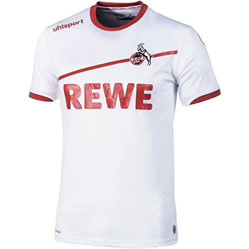 uhlsport Herren 2018/2019 1. Fc Köln Heimtrikot, weiß/rot, M