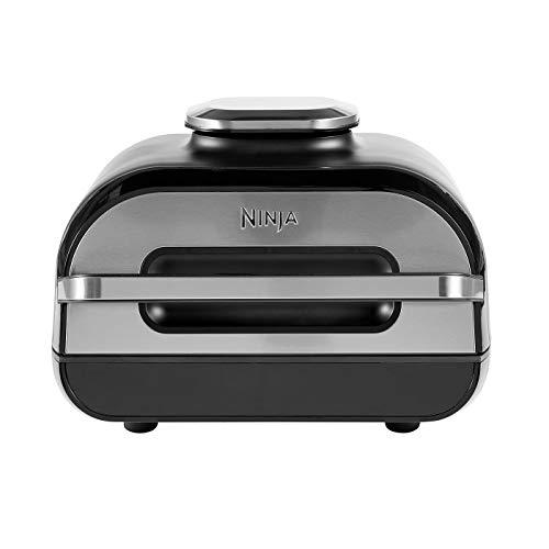 Ninja Foodi MAX [AG551EU] Grill & Heißluft-Fritteuse mit digitalem Temperaturfühler, 3,8 L...