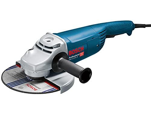 Bosch Professional Winkelschleifer GWS 22-230 JH (Zusatzhandgriff, Schutzhaube, Karton, Scheiben-Ø: 230 mm,...