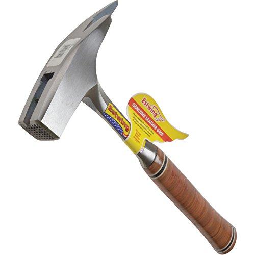 ESTWING Latthammer mit Ledergriff, mit Magnet, 24mm 600g, geraute Bahn
