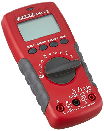 Benning Multimeter Digital MM1-3, 044083