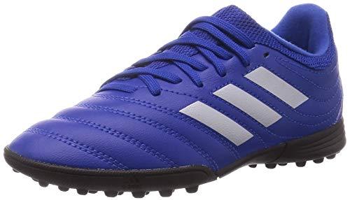 adidas COPA 20.3 TF J Soccer Shoe, ROYBLU/SILVMT/CBLACK, 35.5 EU