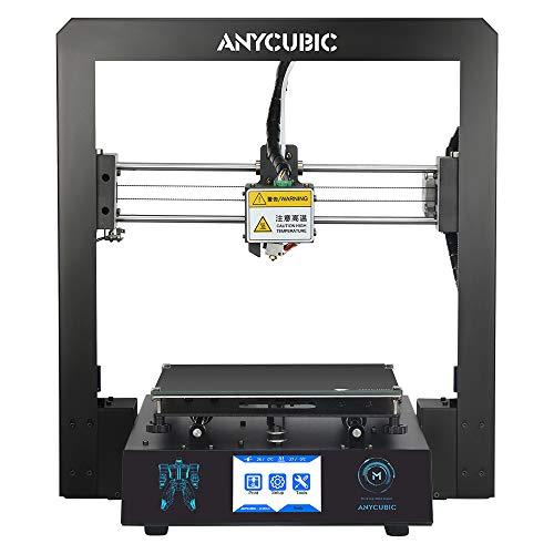 ANYCUBIC I3 Mega 3D Drucker Kit mit größerem Druckbereich und Ultrabase Heizbett 3,5 Zoll TFT Touchscreen...
