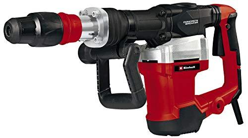 Einhell Abbruchhammer TE-DH 1027 (1.500W, 1.900 1/min Schlagzahl, SDS-Max-Werkzeugaufn., Softgriff,...