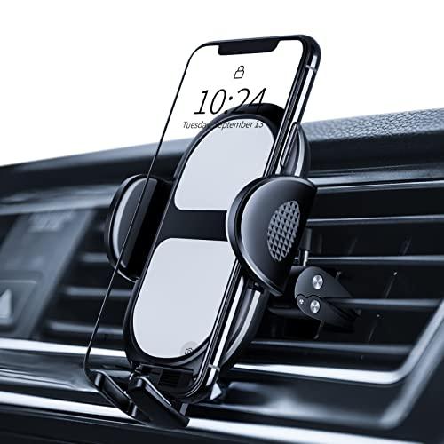 Amazon Brand - Eono Handyhalterung Auto, Handy Halterung für Auto Lüftung 360 Grad drehbare Handyhalterung,...