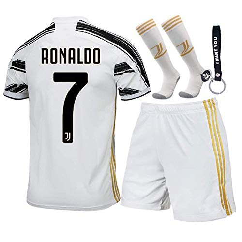KINDERS Trikot Fußball für Kinder T-Shirts Jungen Heimtrikot Kinder Trikot Set 2021 Heim/Auswärts Trikot...