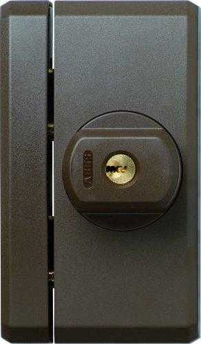 ABUS Fenster-Zusatzsicherung FTS96 AL0125 - Fensterschloss 2 verkrallenden Stahlriegeln, gleichschließend -...