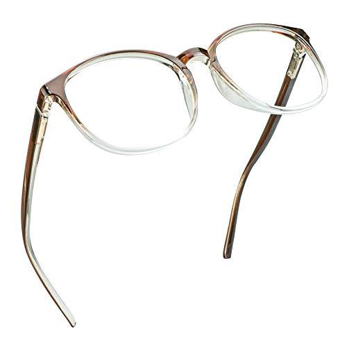 LifeArt Blaue Licht Blockieren Brille, Anti-Augen-Müdigkeit, Computer Lesebrillen, TV Brille für Frauen...