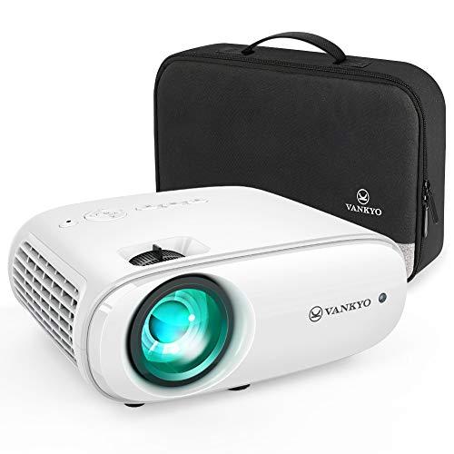 Beamer 5500 Lumen, VANKYO Cinemango 100 Heimkino Beamer, Support 1080P Full HD mit 60000 Stunden LED,...