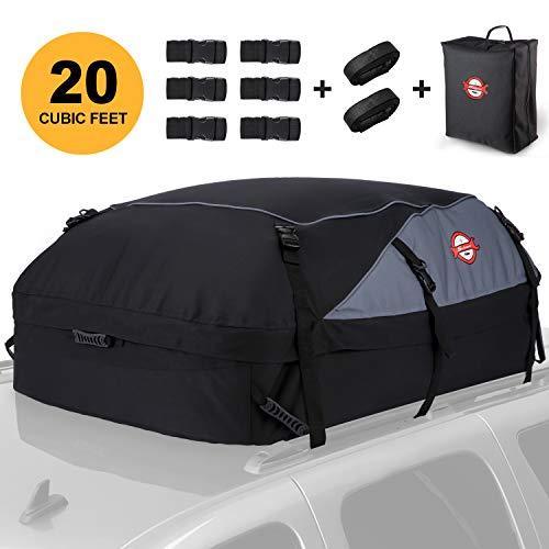Dachbox, 580L Faltbare Auto Dachkoffer Gepäckbox Wasserdicht Tragbar Dachboxen Dachgepäckträger Tasche für...