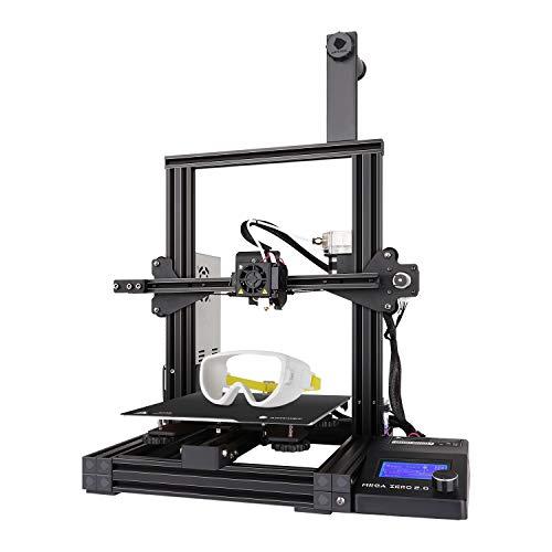 ANYCUBIC 3D Drucker Mega Zero 2.0 mit Heißem Bett, Schnellem Erhitzen, Update-Version Auxiliary Leveling...