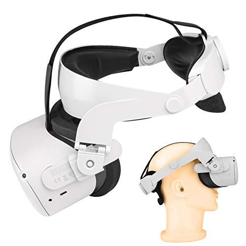 VR Gürt Headset Oculus Quest 2 Zubehör, Halo Gurt, Einstellbarer Ersatz für den Quest 2 Elite Gurt,...