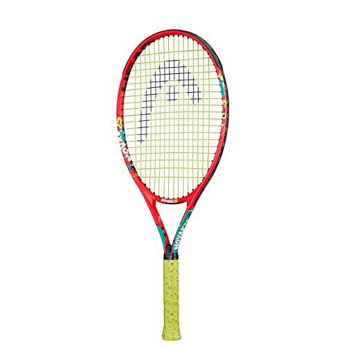 HEAD Unisex Jugend Novak 25 Tennis Racket, mehrfarbig, 8-10 Jahre
