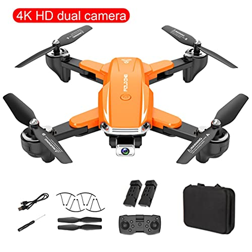 SeniorMar-UK S6 4K High Definition Pixel Drone Kamera WiFi FPV Hight Hold Mode One Key Return Faltbarer Arm...