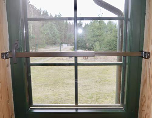 ERABOS® - Patentierte Sicherungsstange für Fenster/Türen | MIT KIPPSTELLUNGS-SCHUTZ | Einbruchschutz |...