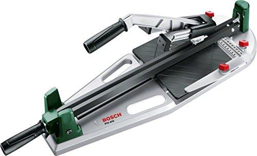 Bosch Fliesenschneider PTC 470, Karton (Max. Schnittlänge 470 mm, max. Fliesenstärke 12 mm, Winkelanschlag...