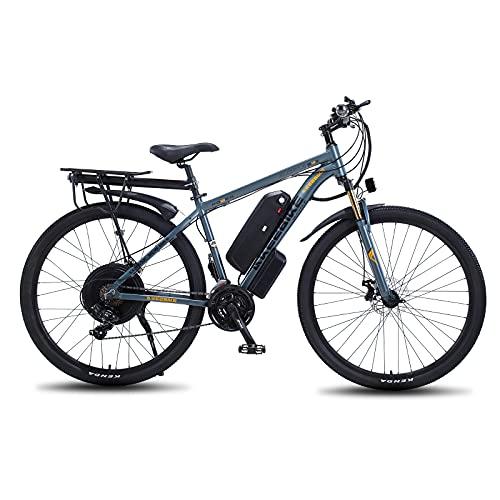 Hyuhome 29' Elektro Mountainbike für Erwachsene, 1000W MTB E-Bike für Herren 48V 13A Lithium Batterie...