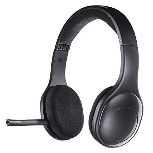 Logitech H800 Kabelloses Bluetooth Headset, Hi-Definition Stereo-Kopfhörer mit Noise-Cancelling Mikrofon,...