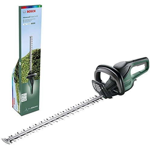 Bosch Heckenschere AdvancedHedgecut 65 (500 Watt, Messerlänge: 65cm, für große Hecken, Messerabstand: 34mm,...