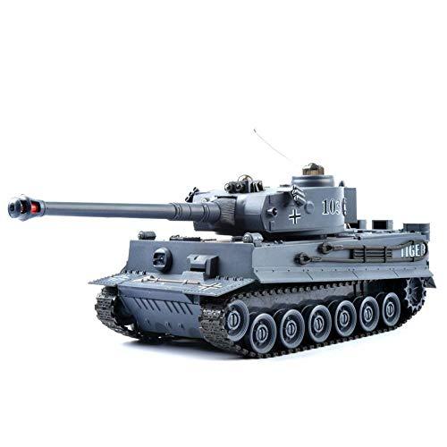 2.4GHz RC ferngesteuerter Kampfpanzer IR Battle Militär-Panzer Tank mit Gefecht- und Schusssimulation,Sound...