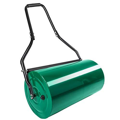 TecTake Rasenwalze Handwalze Rasenroller | Walzenbreite: 60 cm | Ø: 31 cm | Füllvolumen: ca. 50 L