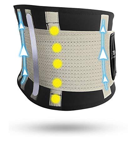 TECH THERAPEUTICS Lendenwirbelgürtel Rückenstütze Lumbaler Rückenstützgürtel Bauchiger elastischer...