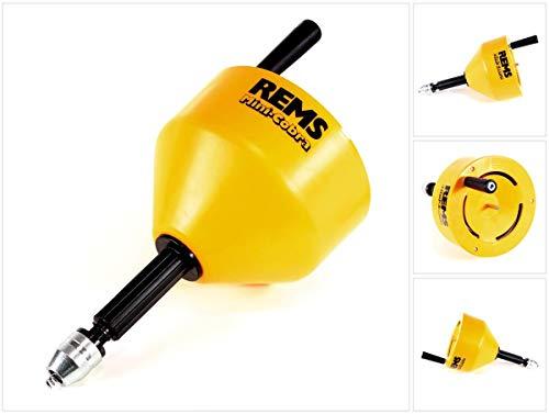 Rems Rohrreinigungsgerät Mini-Cobra (für Hand-und Elektrobetrieb, für Rohre ø 20-75 mm, mit Handkurbel,...