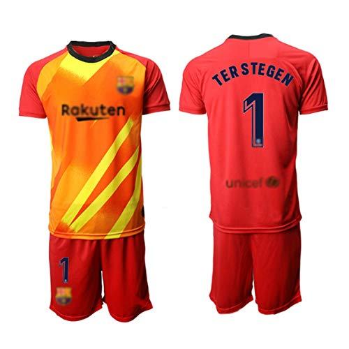 TT377 Fußballtrikot 2020,# 1 TER Stegen,T-Shirt + Shorts