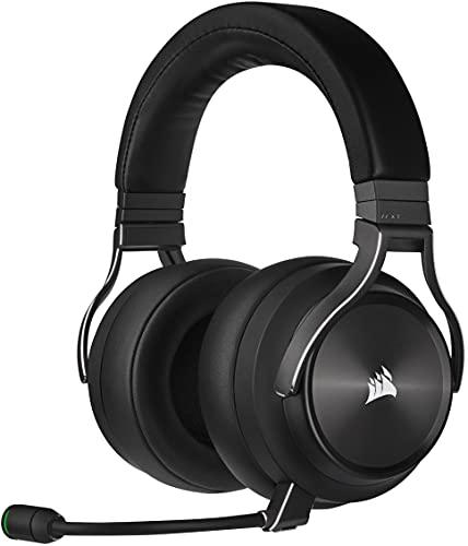 Corsair VIRTUOSO RGB WIRELESS XT Hi-Fi-Gaming-Headset mit Räumlichem Klang (Gleichzeitige...