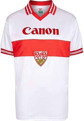 VfB Stuttgart Retro Trikot 1980 (S, White)