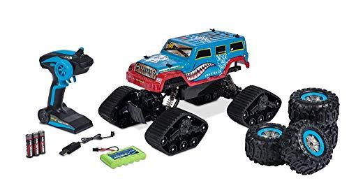 Carson 1:10 Track Racer 2.4G 100% RTR, Ferngesteuertes Auto, RC Fahrzeug, inkl. Batterien und Fernsteuerung,...