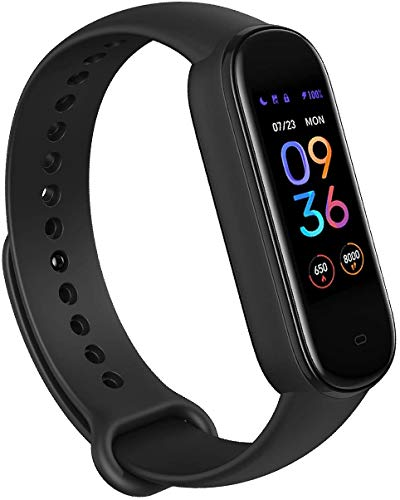 Amazfit Smartwatch Band 5 Fitness Tracker Armband mit integrierter Alexa, 15 Tagen Akkulaufzeit,...