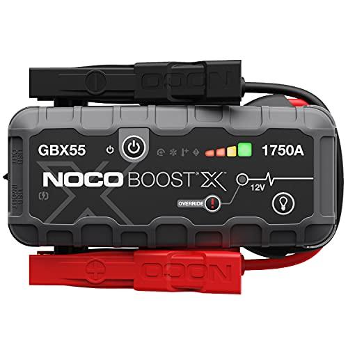 NOCO Boost X GBX55 1750A 12V UltraSafe Starthilfe, Tragbare Auto Batterie Booster, Powerbank-Ladegerät,...