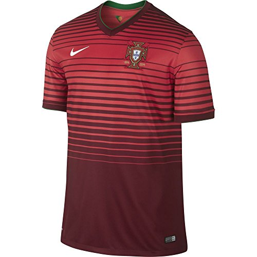 Nike JSY Portugal SS Home Stadium Fuball Trikot S rot