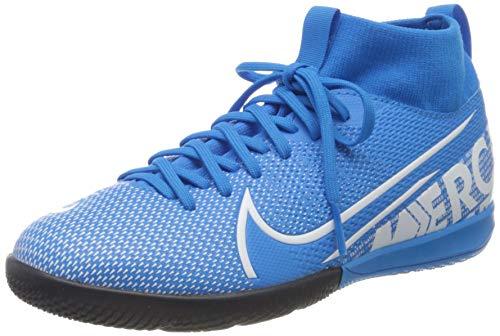 Nike Superfly 7 Academy Ic Fußballschuhe, Mehrfarbig (Blue Hero/White/Obsidian 414), 38.5 EU