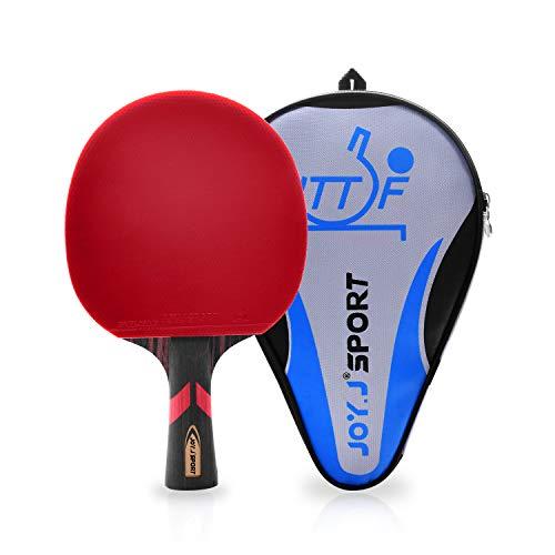Joy.J Sport ITTF Genehmigter Tischtennisschläger, Professioneller Tischtennis-Schläger, Ideal für...