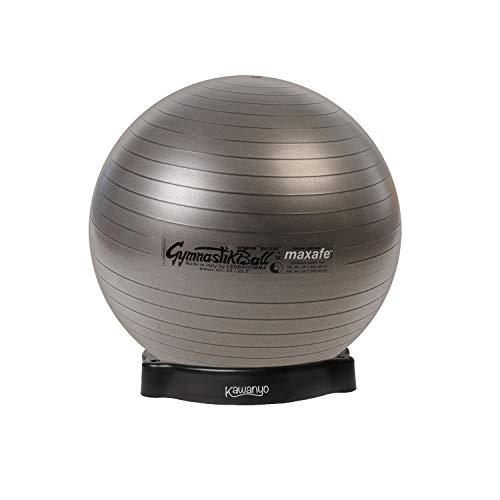 PEZZI Original Pezziball MAXAFE 65 cm m. Ballschale anthrazit Sitzball