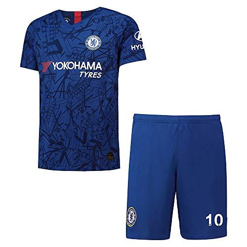 Personalisierte Fußball-Fußball-Trikots für Kinder/Erwachsene/Männer (2019-2020 Home & Away),...