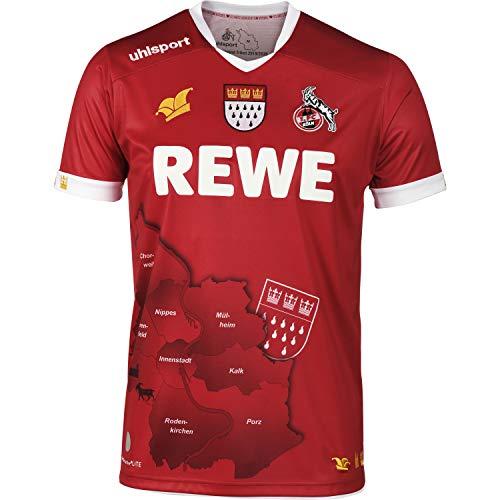 uhlsport 1. FC Köln Karneval Trikot 19/20 Limitiert (XL, rot)