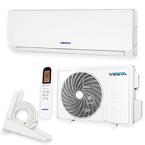 VIESTA 09SQ Split Klimaanlage Inverter Splitgerät Klimaanlage im Komplettset, Klimagerät Split mit...